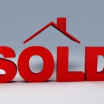 image of sold house 3d illustration